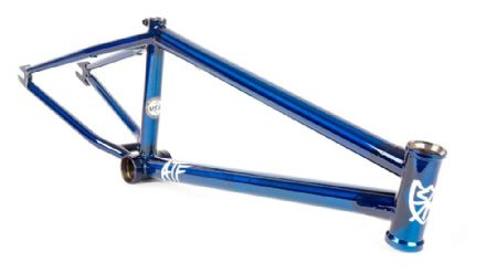 "S&M ATF 22"" Wheel Frame 22.125"" TT Trans Blue"